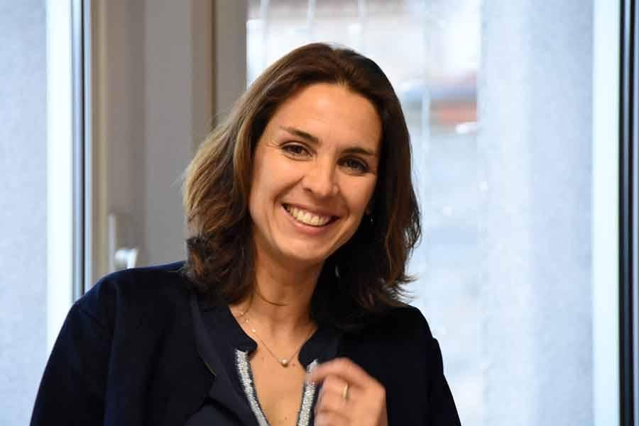 Stéphanie Gros, présidente du comité Miss Prestige Auvergne Pays du Velay