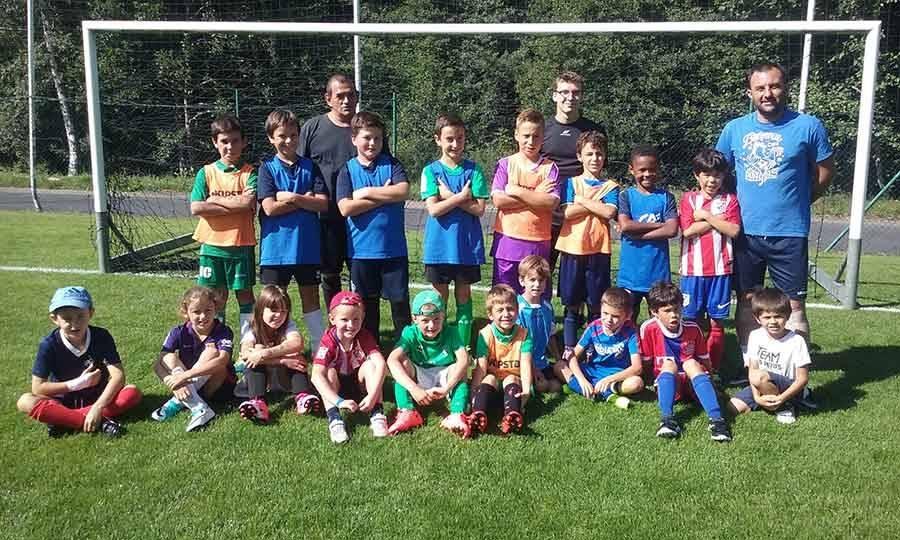 Le stage de foot Mazet-Chambon réunit 36 jeunes