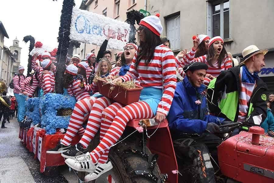 Carnaval d'Yssingeaux : les photos du 70e défilé