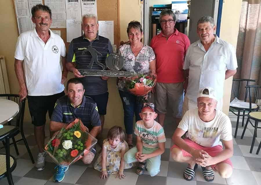 Boules lyonnaises : les Ardéchois Vivenzio Fanget remportent le premier challenge Jacques-Maurin