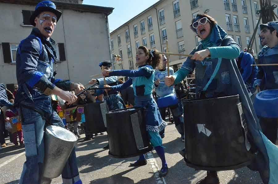 Monistrol-sur-Loire : le carnaval des enfants en photos et vidéo