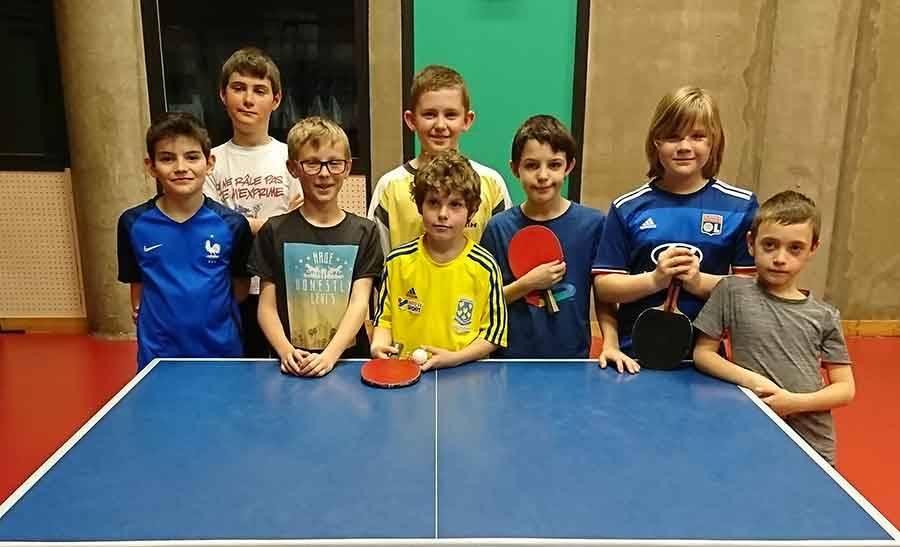 Tennis de table : les jeunes pongistes du Haut-Lignon, Dunières et Yssingeaux s'affrontent