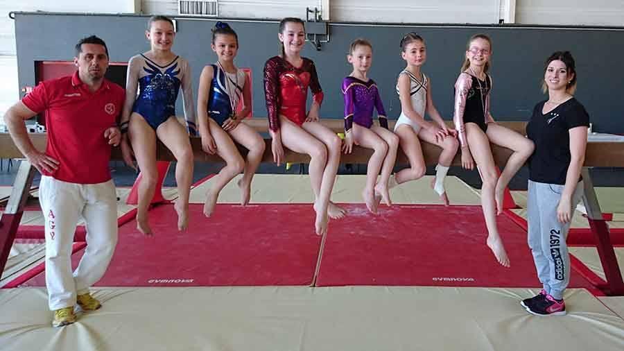 Gymnastique artistique : quatre Yssingelaises championnes d'Auvergne