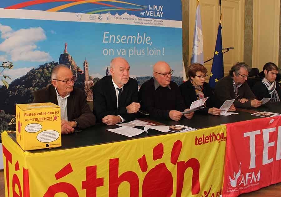 Puy-en-Velay : les associations sur le pont pour le Téléthon