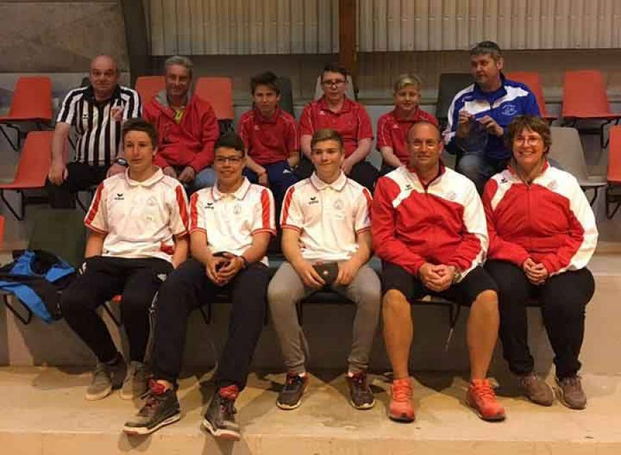 Pétanque : une compétition réservée aux jeunes à Retournac