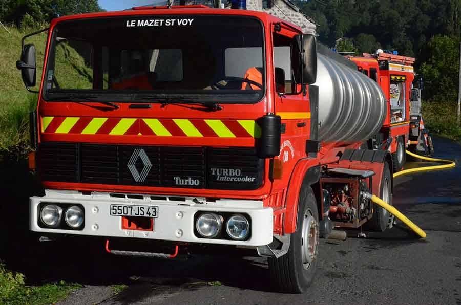 Le Mazet-Saint-Voy : les 14 pompiers ont réalisé 46 interventions en 2016