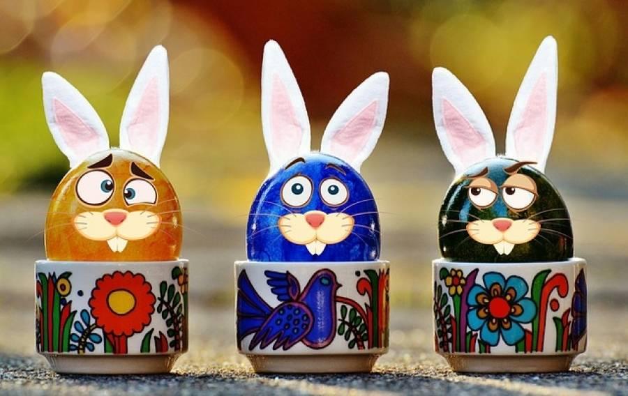 Chasse aux oeufs de Pâques : l'embarras du choix pendant trois jours