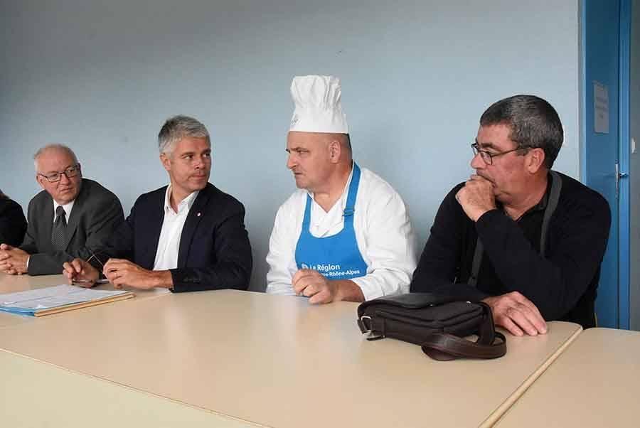 La Région aux côtés des cuisiniers des cantines pour se fournir en produits locaux