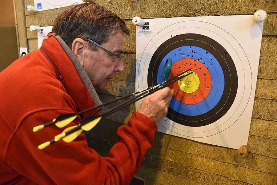 Le Chambon-sur-Lignon : les archers préparent le concours interclubs