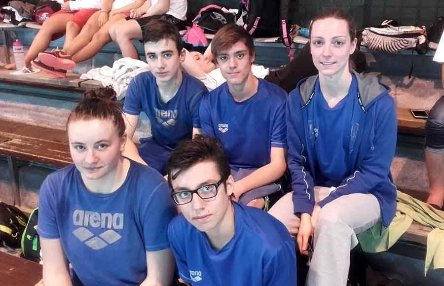 Natation : les juniors et seniors du Puy-en-Velay au meeting de Montluçon