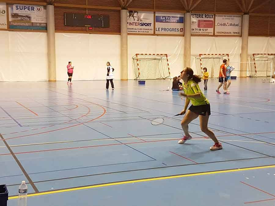 Badminton : l'Emblavez rafle les titres départementaux