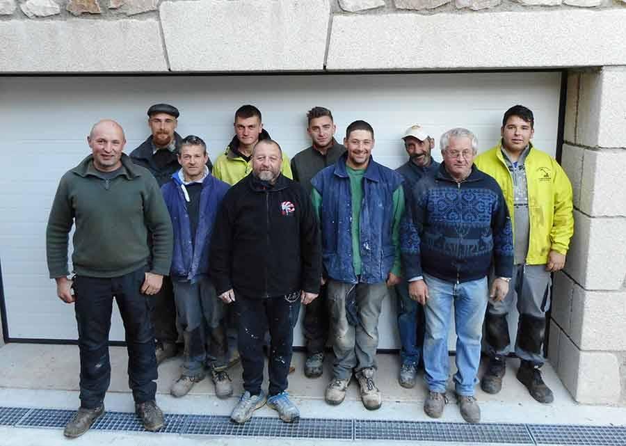 Maurice Balandraud et Michel Vial se sont associés au sein de l'entreprise créée en 1991 par Michel Balandraud. Aujourd'hui, la société compte 10 salariés dont deux apprentis.