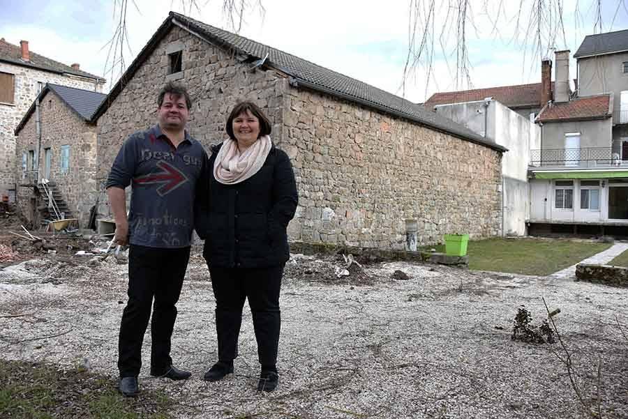 Hervé et Béatrice Vial.