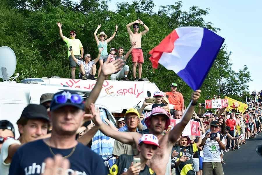 Tour de France : Du vent dans le final de la 16e étape