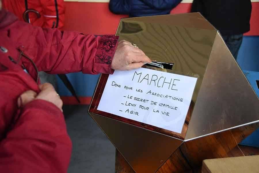 La Séauve-sur-Semène : des pas et un repas au profit d'enfants malades