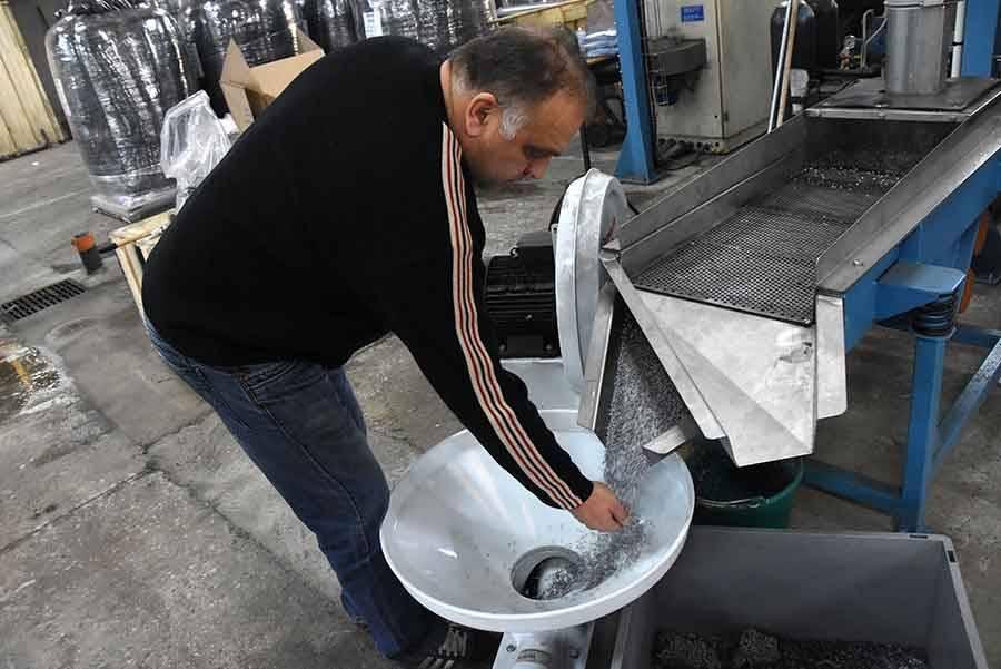 Tence : une première extrudeuse en fonctionnement à l'entreprise Renon