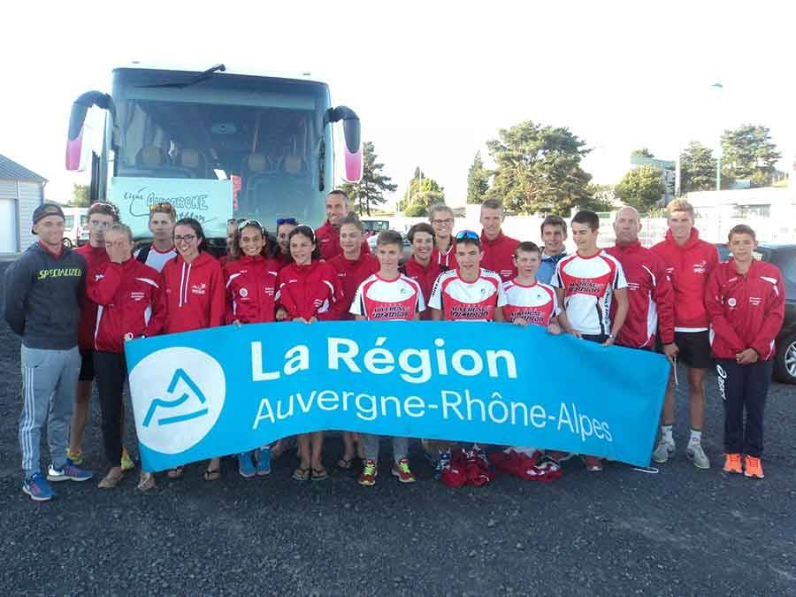 Les jeunes triathlètes de Haute-Loire ont défendu l'Auvergne aux championnats de France