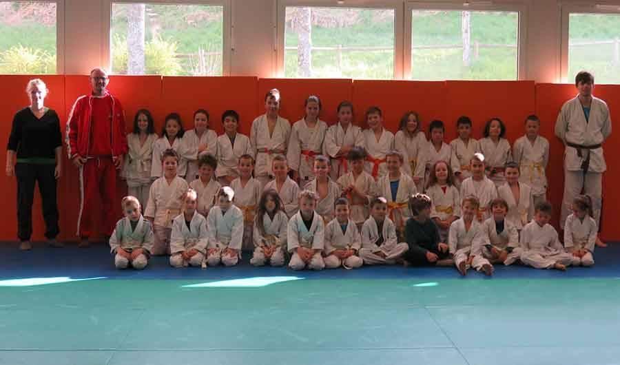 Chambon-sur-Lignon : une journée jeux et judo au dojo