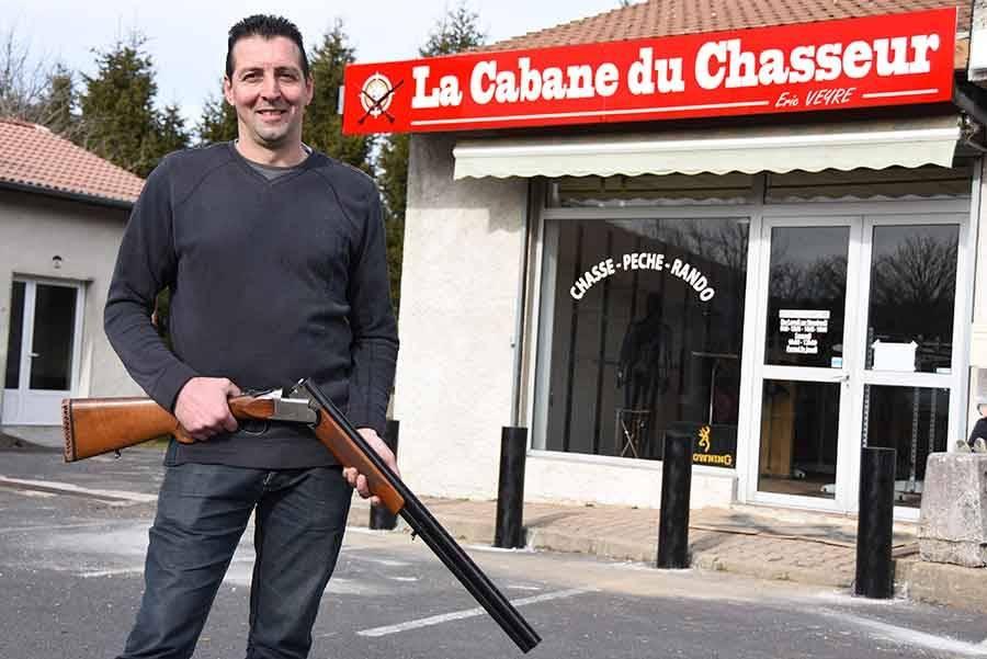 Saint-Bonnet-le-Froid : Eric Veyre va ouvrir une armurerie