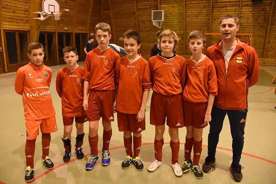 Sainte-Sigolène, finaliste en U12-U13.