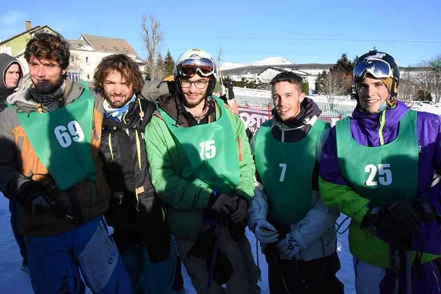 Les Estables : Tom Reymond remporte le premier trophée de ski Jean-Blanc