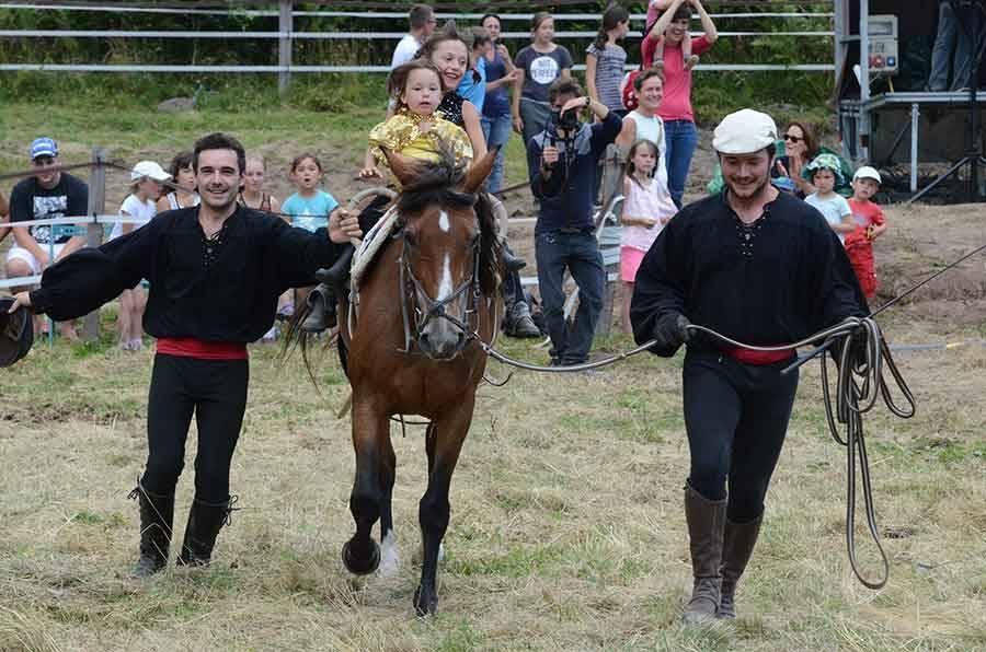 La Fête du cheval au grand galop au Chambon-sur-Lignon