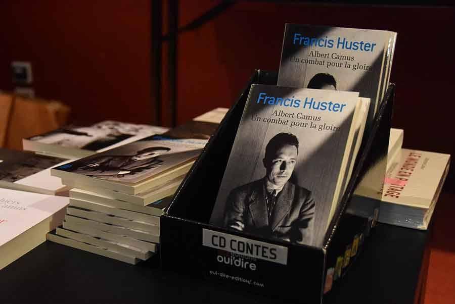 """Le livre de Francis Huster, """"Albert Camus, un combat pour la gloire"""" est disponible en poche."""