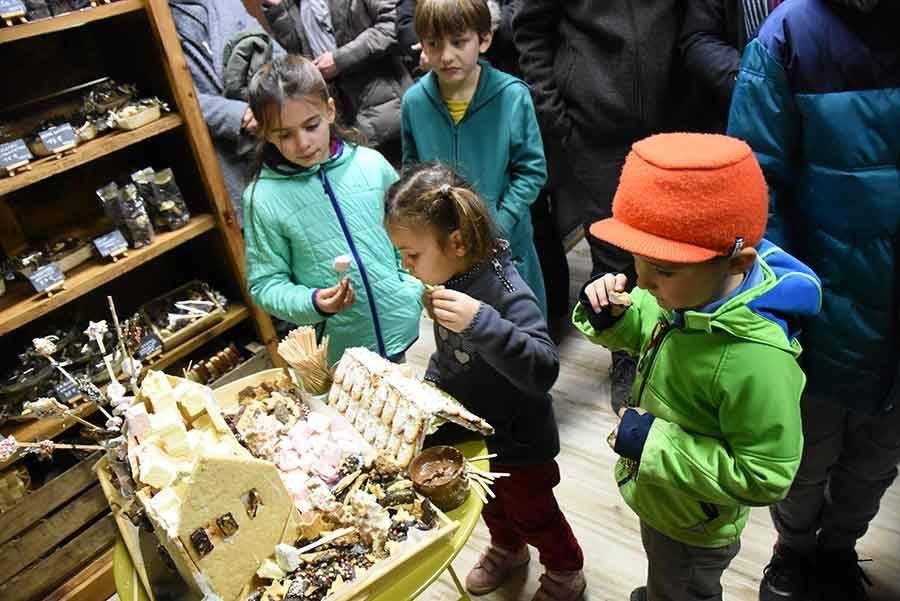 Chambon-sur-Lignon : la maisonnette en biscuit a été dégustée