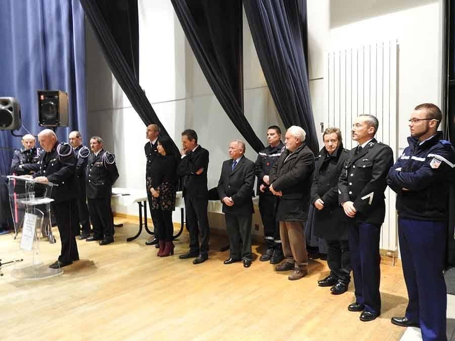Saint-Agrève : 292 interventions réalisées par les pompiers en 2016