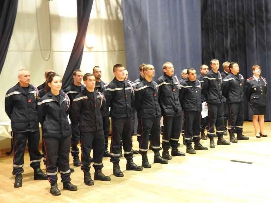 Le centre de secours compte 24 pompiers et 5 infirmiers.