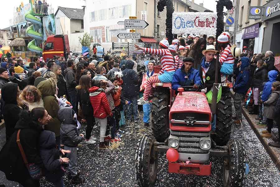 Carnaval d'Yssingeaux : le défilé en vidéo