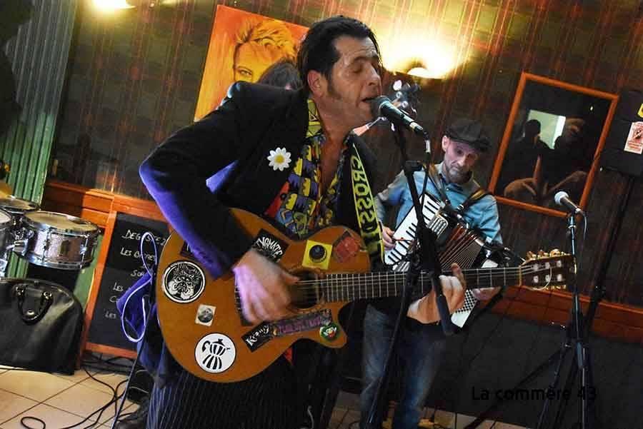 Stag et ses musiciens en concert vendredi à l'Ours Maçon de Tence