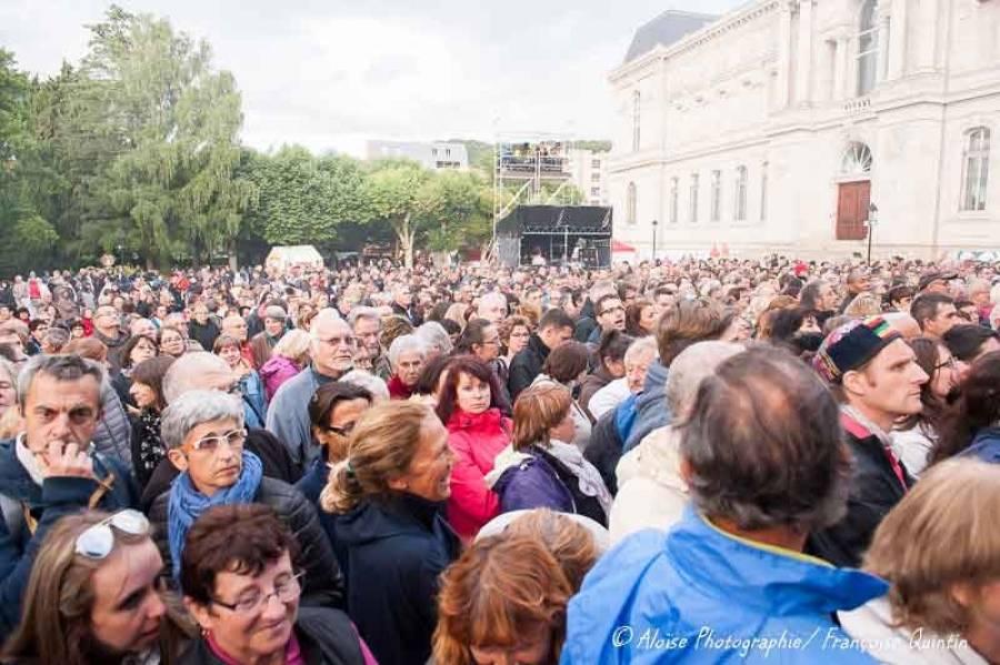 Le concert d'Alain Souchon et Laurent Voulzy en images