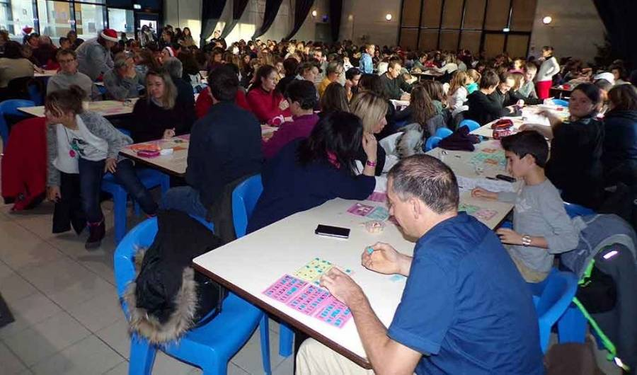 Saint-Agrève :  une belle affluence au loto de l'APE des écoles publiques