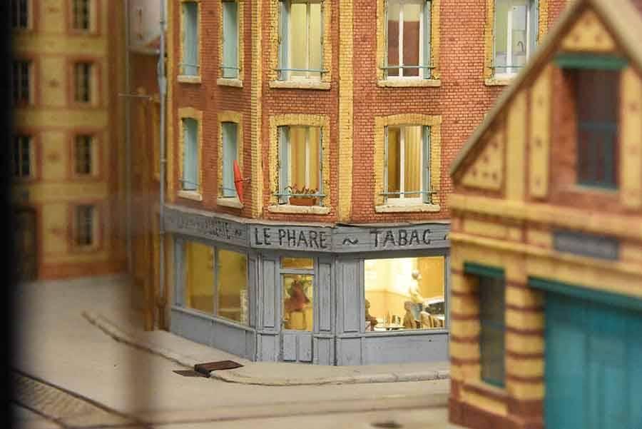 Devesset : il a réalisé une rue du Havre en miniature