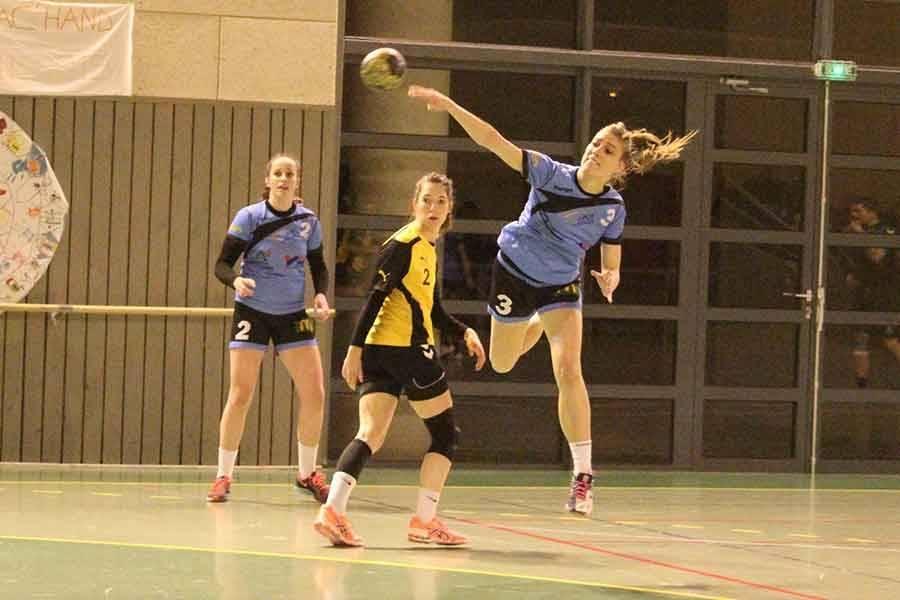 Les handballeuses de Saint-Germain/Blavozy de retour à la compétition
