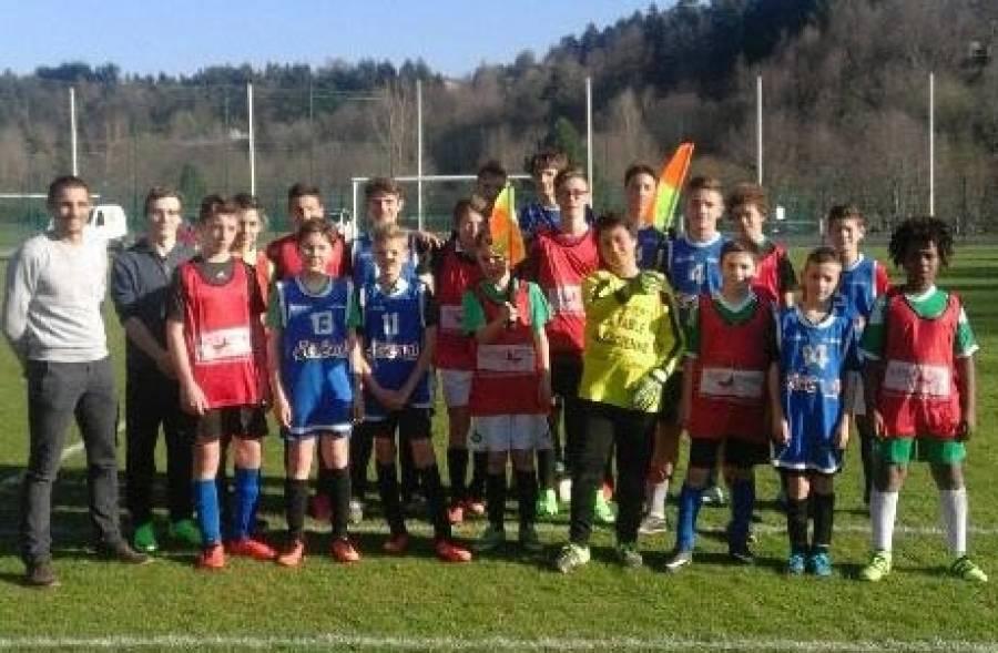Mazet-Chambon : les jeunes footballeurs sensibilisés à l'arbitrage