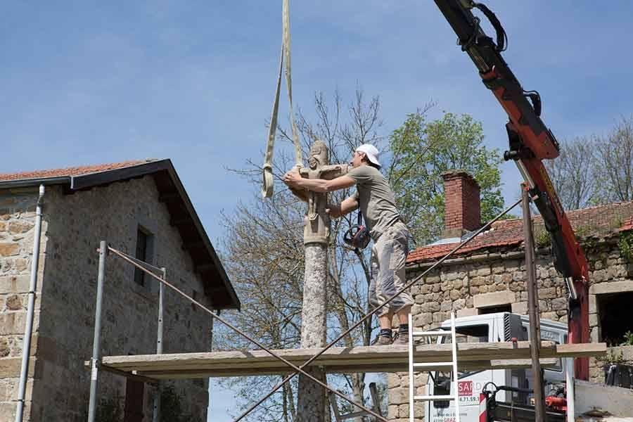 Lapte : la croix de Brossettes de retour après cinq ans d'absence