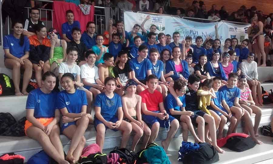 Natation : 120 nageurs en meeting départemental à La Vague