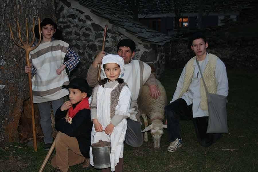 Une veillée de Noël et une crèche vivante à Moudeyres le 18 décembre