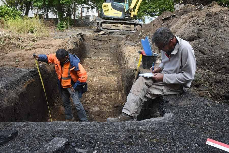 Yssingeaux : un diagnostic archéologique sur l'ancien lycée du Sacré-Coeur