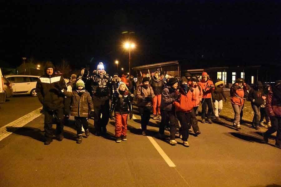Les Estables : 270 marcheurs dans la nuit pour les Veillades du Mézenc
