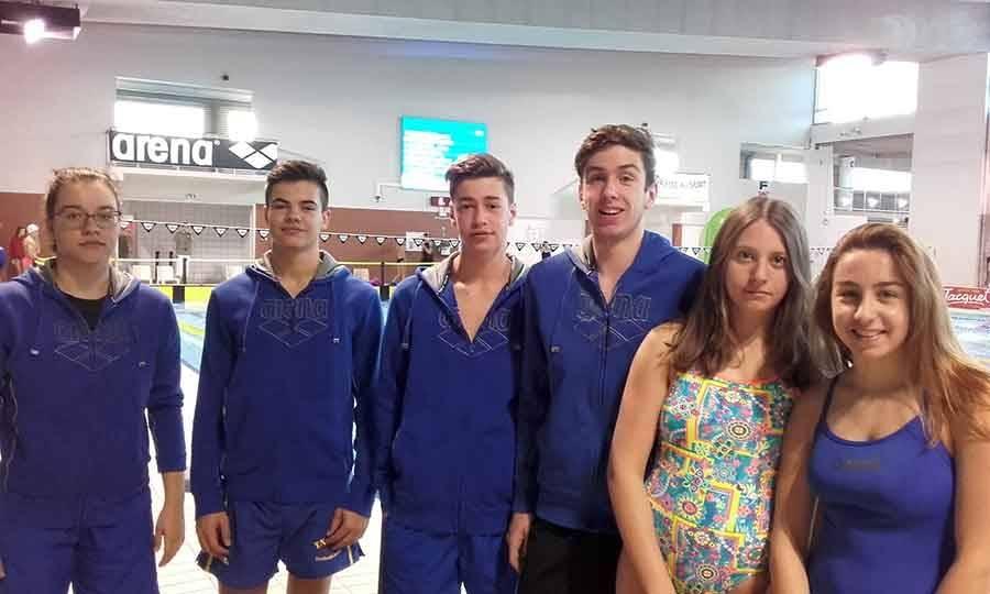 Les nageurs ponots ont obtenu des résultats encourageants.