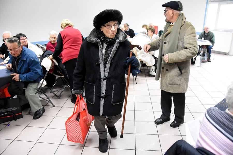 Quatre cents colis de Noël remis aux aînés de Monistrol