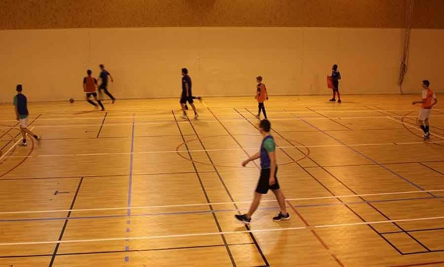 Tournoi de futsal au Chambon-sur-Lignon.