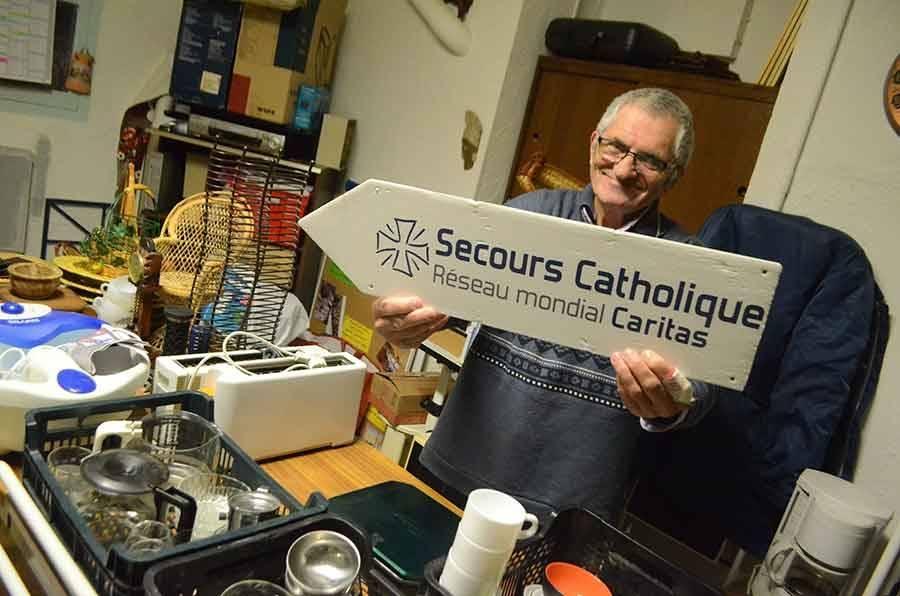 Le bric à brac du Secours catholique ce week-end
