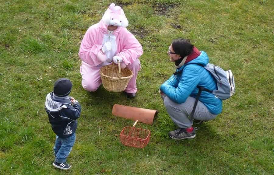 Une chasse aux oeufs samedi à la Forteresse de Polignac