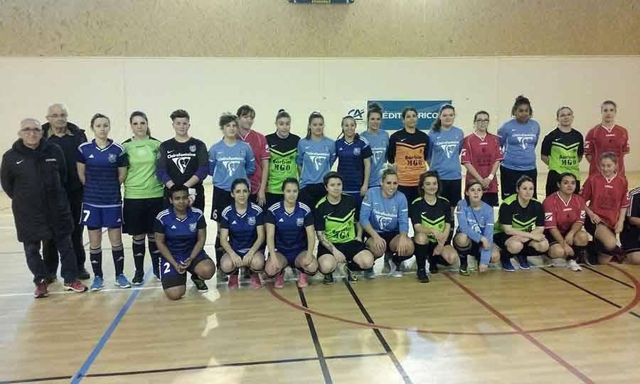 Futsal : Le Puy Foot remporte la coupe féminine