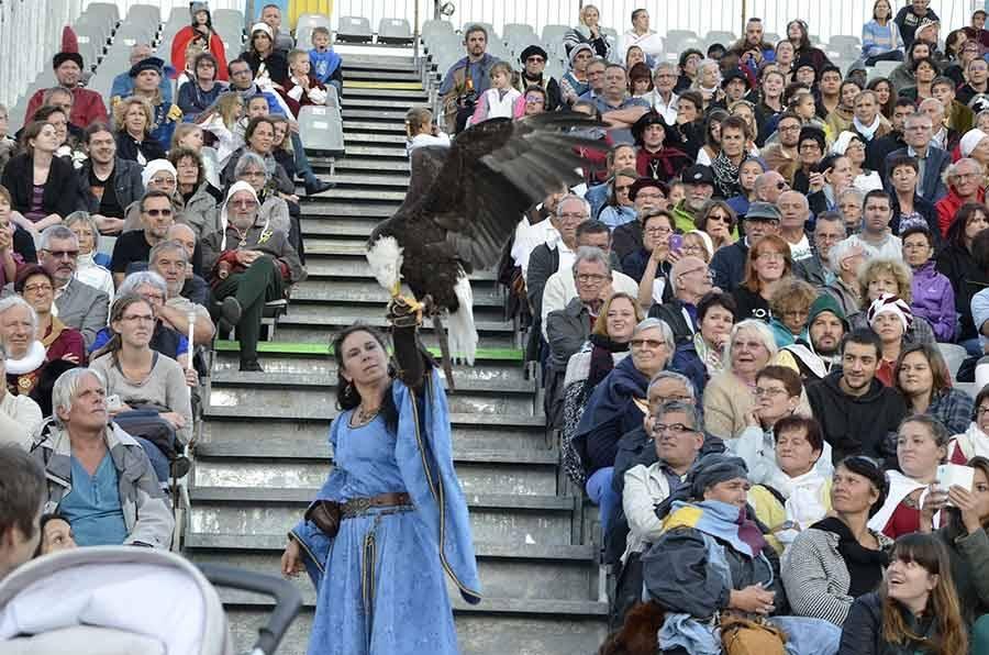 Les fêtes Renaissance du Roi de l'Oiseau entre les gouttes