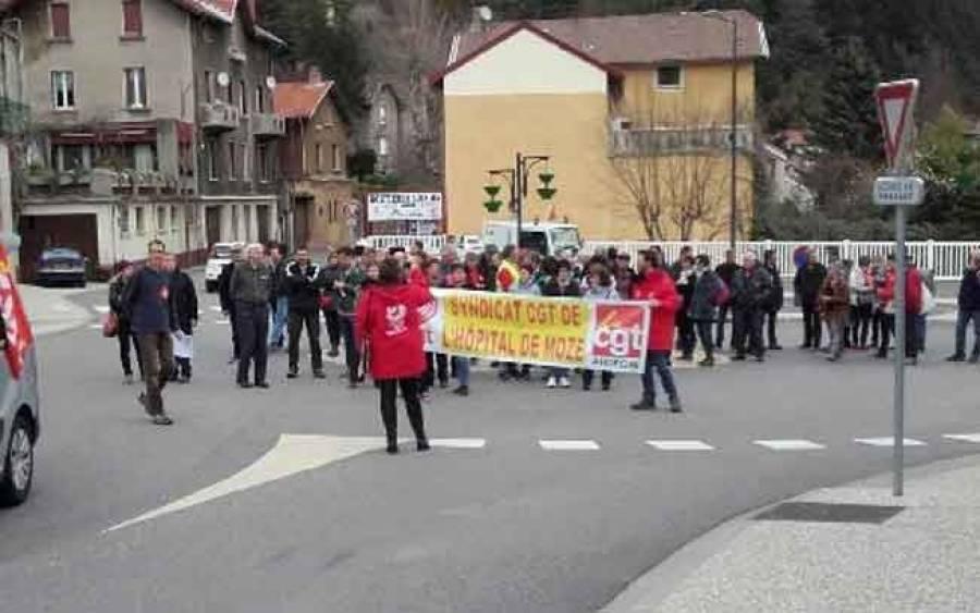La manifestation au Puy et en Ardèche contre la loi Travail